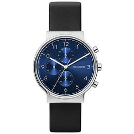 Skagen Mens Anchor Strap Watch