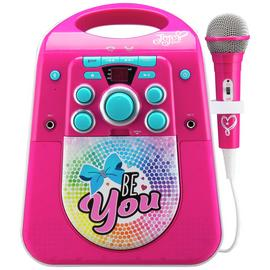 Jojo Siwa Bluetooth CDG Karaoke Machine with Microphone