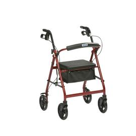 Four Wheel Rollator - Aluminium