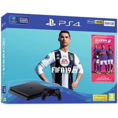 FIFA 19 PS Plus 500GB PS4 Console Bundle