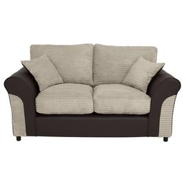 Argos Home Harry 2 Seater Fabric Sofa - Natural
