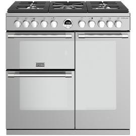 Stoves Sterling S900DF Dual Fuel Range Cooker - S/Steel