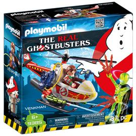 Playmobil 9385 Ghostbusters Venkman with Helicopter/t
