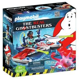 Playmobil 9387 Ghostbusters Zeddemore with Aqua Scooter/t
