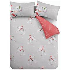 Catherine Lansfield Christmas Unicorn Bedding Set – Kingsie
