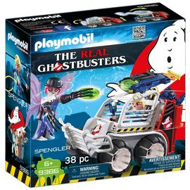 Playmobil 9386 Ghostbusters Spengler with Cage Vehicle/t