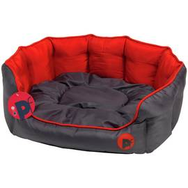 Petface Oxford Red Dog Bed - Small