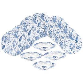 Portmeirion 12 Piece Botanic Dinner Set - Blue