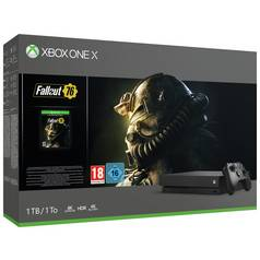 Xbox One X 1TB Console & Fallout 76 Bundle