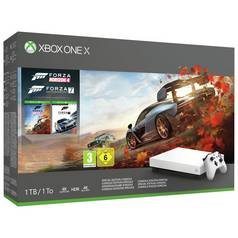 Xbox One X White Console & Forza Special Edition Bundle
