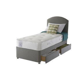 Sealy Activ 1800 Pocket Memory 2 Drawer Single Divan
