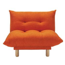 Habitat Kota Fabric Armchair - Orange