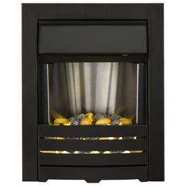 Adam Helios 2kW Electric Inset Fire - Black