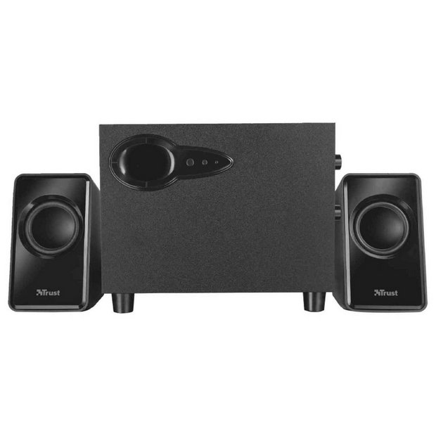 Trust Avora 2.1 PC Speaker Set with Subwoofer - Black