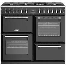 Stoves Richmond S1000DF Dual Fuel Range Cooker - Black