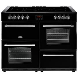 Belling Farmhouse 110E Electric Range Cooker - Black