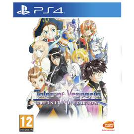 Tales of Vesperia Definitive Edition PS4 Game
