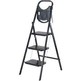 Abru Slim 3 Step Stepstool with Tool Tray