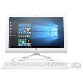 HP 19.5 Inch Celeron 4GB 1TB All-in-One Desktop PC - White