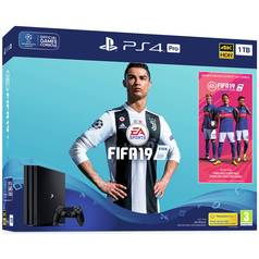 FIFA 19 PS Plus 1TB PS4 Pro Console Bundle