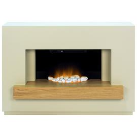 Adam Sambro 2kW Electric Fire Suite - Oak
