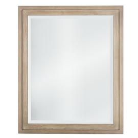 Argos Home Rectangular Mirror - White Wash