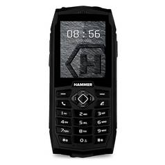 Sim Free Hammer 3 Mobile Phone - Black