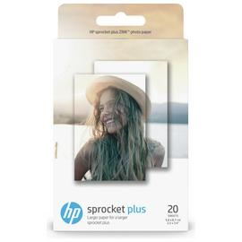 HP Sprocket Plus Photo Paper - 20 Sheets