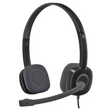 Logitech H150 Stereo PC Headset - Black