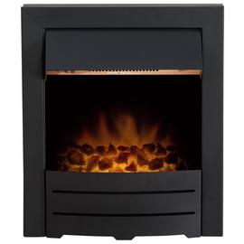 Adam Colorado 2kW Electric Inset Fire - Black
