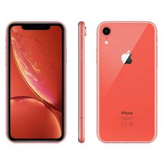 Sim Free iPhone XR 256GB Mobile Phone - Coral