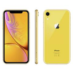 Sim Free iPhone XR 256GB Mobile Phone - Yellow