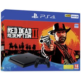 Sony PS4 500GB Console and Red Dead Redemption 2 Bundle