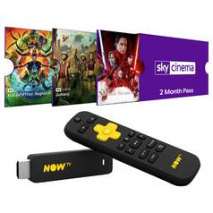 NOW TV Stick with 2 Months Sky Cinema and 1 Day Sport Pass