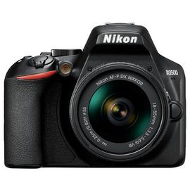 Nikon D3500 DSLR Camera with AF-P DX 18-55mm VR Lens
