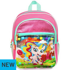 235d69b3ec Fingerlings Gigi Unicorn Deluxe Junior Backpack