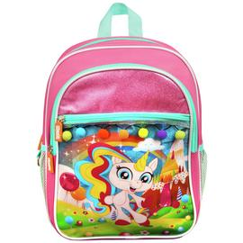 Fingerlings Gigi Unicorn Deluxe 8L Backpack - Pink
