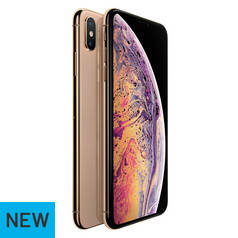 Sim Free iPhone Xs Max 256GB Mobile Phone - Gold