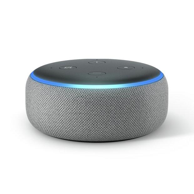 Amazon Echo Dot - Heather Grey