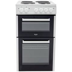Bush BETAW50W 50cm Double Cavity Electric Cooker - White