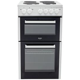 Bush BETAW50W 50cm Twin Cavity Electric Cooker - White