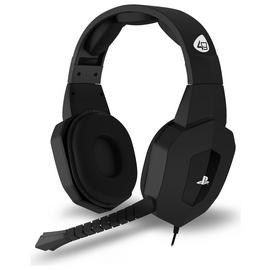 Officially Licensed PRO4-80 PS5/PS4 Headset - Black