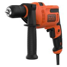 Black + Decker Keyless Corded Hammer Drill - 500W