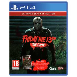 Friday 13th Ultimate Slasher Edition PS4 Game