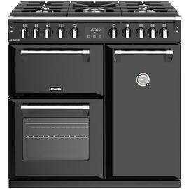Stoves Richmond S900DF Dual Fuel Range Cooker - Black