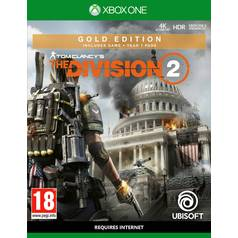 Tom Clancy's The Division 2 Gold Edn Xbox One Pre-Order Game
