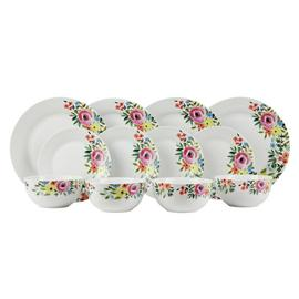 Argos Home Cote d'Azure 12 Piece Dinner Set