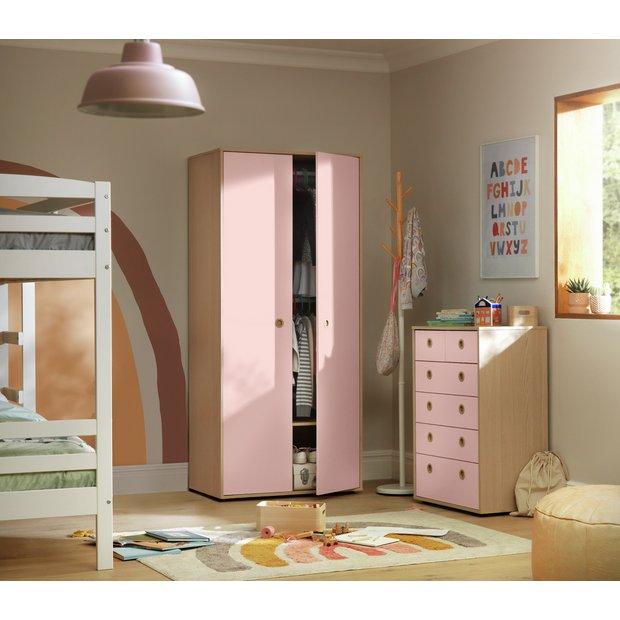 Pleasant Buy Argos Home Camden Pink Acacia 2 Door Wardrobe Package Kids Bedroom Furniture Sets Argos Home Interior And Landscaping Palasignezvosmurscom