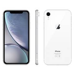 Sim Free iPhone XR 128GB Mobile Phone - White