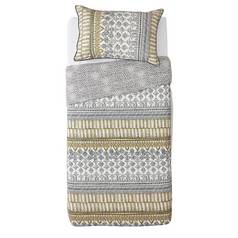 d3389127a Argos Home Mono Textured Stripe Bedding Set